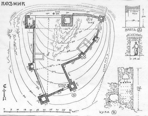 Мапа тврђаве,САНУ